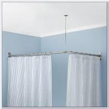 l shaped curtain rod india