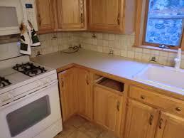 Replacement Countertop In Corian Rosemary Kitchen Edmonton Fiumefreddo B