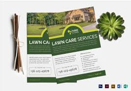 lawn care templates green flyers ohye mcpgroup co