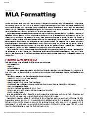Standard Mla Format English Composition Mla Formatting Pdf 9781943926039 19