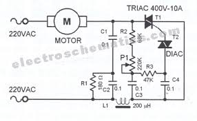 dc motor sd controller schematic