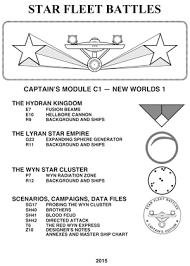 Star Fleet Battles Master Ship Chart Module C1 Rulebook 5601 2 9 95 Star Fleet Store