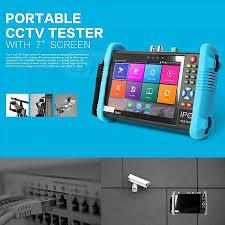 <b>New 7 Inch</b> Six In One IP HD CCTV Tester Monitor <b>Analog</b> AHD TVI ...