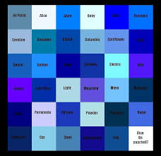 Image result for specific shades of blue