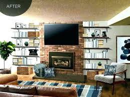 floating shelves by fireplace floating shelves fireplace modern house floating shelves next to fireplace interior decor