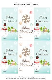 Christmas Gift Tag Design