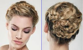 Hair Style Braid short wedding hairstyles braid are style bridal hairstyle medium 6343 by wearticles.com
