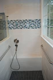 low mounted hand shower