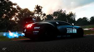 Super expensive and crazy fast. Gt Sport Bugatti Veyron Gr 4 Exhaust Backfiring Nurburgring Image Granturismo