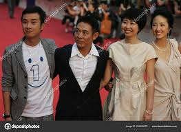 Left Chinese Actors Wen Zhang Jet Director Xue Xiaolu Taiwanese – Stock  Editorial Photo © ChinaImages #244480076