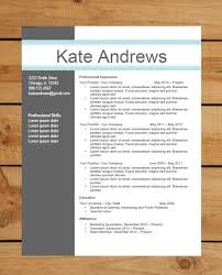 Contemporary Resume Templates Free Fair 167 Best Curriculos Images