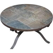 coffee table extraordinary round stone coffee table