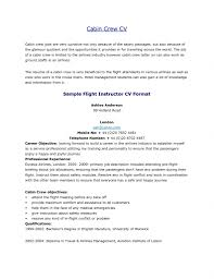 Awesome Fresher Cabin Crew Resume Sample Gallery Simple Resume