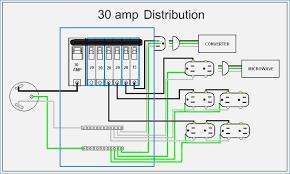 30 amp rv wiring diagram 30 Amp Contact Wiring Diagram Wiring 50 Amp RV Service