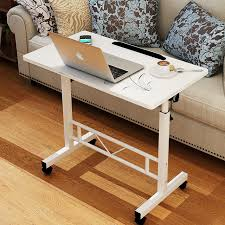 portable office desks. Multifunctional Portable Lifting Laptop Table Simple Modern Computer Desk Home Office Lazy Standing Bed Desks F