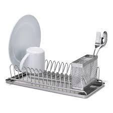 Stainless Steel Compact Dish Rack