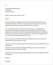 Immigration Letter For A Friend Calmlife091018 Com