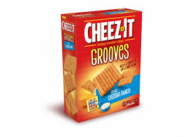 cheez it grooves zesty cheddar ranch nutrition facts
