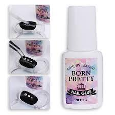 <b>Born Pretty 1 Bottle</b> Clear Nail Decoration Rhinestone Glue Fast Dry ...