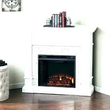 grand electric fireplace inch blvd white faux stone corner convertible 62 electr