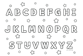 Toddler Alphabet Coloring Pages Zupa Miljevcicom
