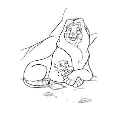 Leeuwenkoning Lion King Kleurplaten Kleurplatenpaginanl