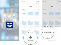How To Upload Multiple Files At Once To Dropbox For Iphone And Ipad