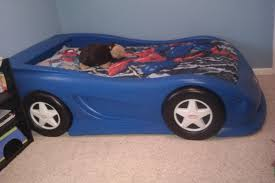 Twin Race Car Bed Blue — Modern Storage Twin Bed Design Twin