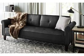 Full Size of Futon:amazing Cheap Futon Sets Leather Faux Fold Down Futon Sofa  Bed ...