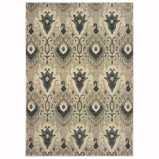 oriental weavers of america bancroft ivory indoor area rug common 8 x 11