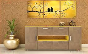 Crockery Unit Design Ideas Crockery Unit In Mdf And Shutters In High Gloss Acrylic