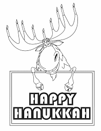 Small Picture Free Printable Coloring Pages Hanukkah Menorah colouring pages