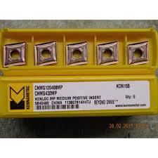 kennametal inserts. x5 kennametal cnmg 120408mp kcm15b carbide inserts new