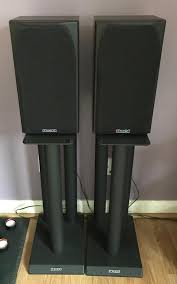 speakers with stands. mission 731 limited edition speakers with speaker stands h