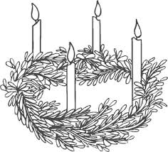 Advent Wreath Free Coloring Pages On Art Coloring Pages