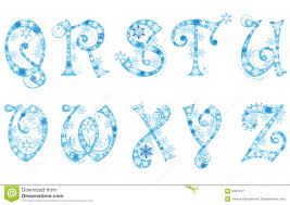 frozen font free download frozen alphabet stock illustration illustration of clear 21224509