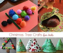11 Easy Christmas Tree Crafts For Kids  No Time For Flash CardsChristmas Tree Kids