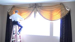room curtains catalog luxury designs: how to dress custom drapes for tall windows galaxy design video  youtube