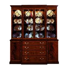 Harris Breakfront China Cabinet