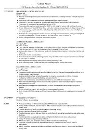 Payroll Specialist Resume Senior Payroll Specialist Resume Samples Velvet Jobs 1