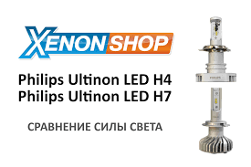 Тест светодиодных <b>ламп Philips Ultinon</b> LED H4 и Philips Ultinon ...