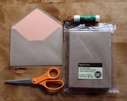 A7 Euro Flap Envelope Liner Template For Use With Michaels Brand