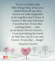one line love es for her sleepless in seattle