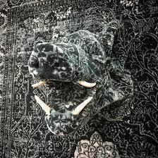debbie lawson persian rug animal sculptures 3