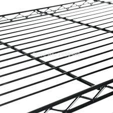 4 tiers black powder coated metal wire shelving rack in storage holders racks from home garden storage wire racks shelf paper shelves shelving ikea