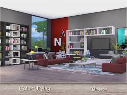 on the sims resource sims 3 wall art with ung999 s color living