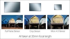 full frame vs aps c vs micro four