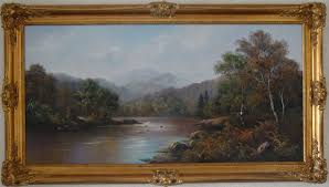 Wendy Reeves   Oil on canvas, River Scene, Art to buy online (Ref:WDR3908)
