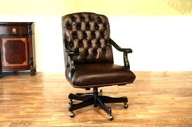 tufted leather executive office chair. Office Chair Tufted Antique Brown Leather Desk Camel . Executive I