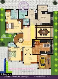 4 Bedroom House Floor Plans India